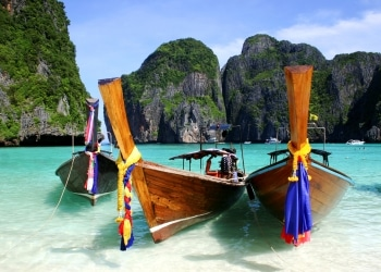 Longtail boats in Phuket