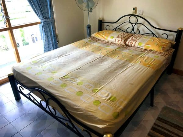 Bed in Rawai apartment