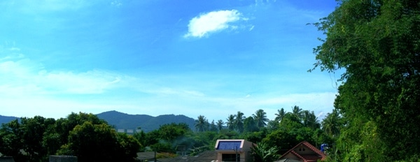 View from Rawai apartments