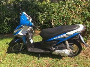 Bikes for hire in Phuket